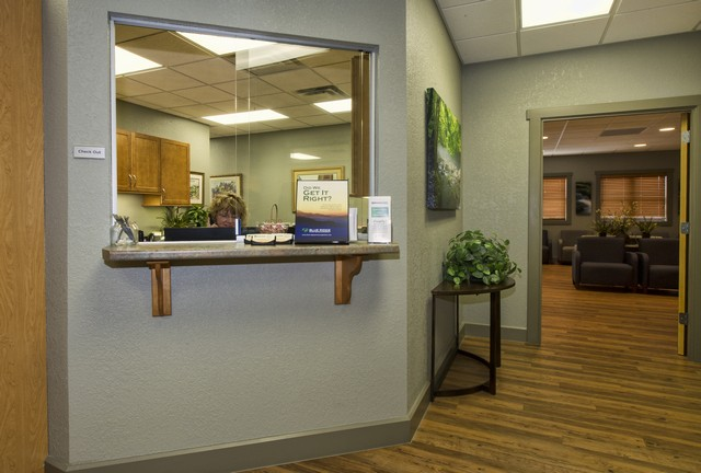 Check In at blue ridge pain management in asheville